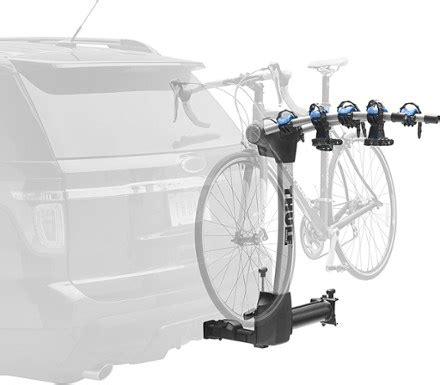 used thule bike rack thule apex swing 4 bike hitch rack rei com