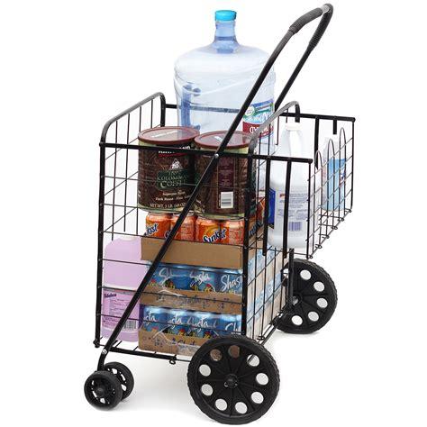 Cover Motor Verza Ukuran Jumbo folding shopping cart jumbo size basket with wheels for laundry grocery travel ebay