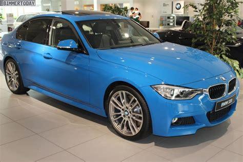 bmw 320d blue colour f30 bmw 3 series in blue color