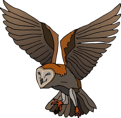 flying owl clipart owl flying clipart best