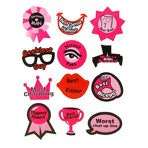 16 best name tags images on pinterest moldings free pin hen party name tags pack quantity 16 on pinterest