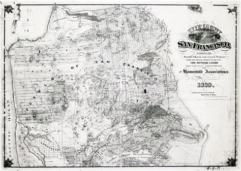 san francisco map vintage san francisco map vintage