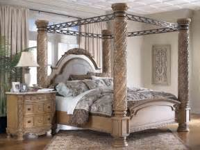 Light Wood Canopy Bedroom Sets Fantastically Wrought Iron Bedroom Furniture