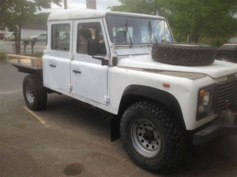 purchase used land rover defender 130 high capacity