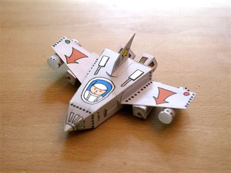 Spaceship Papercraft - 82 best pokusy rakety images on activities