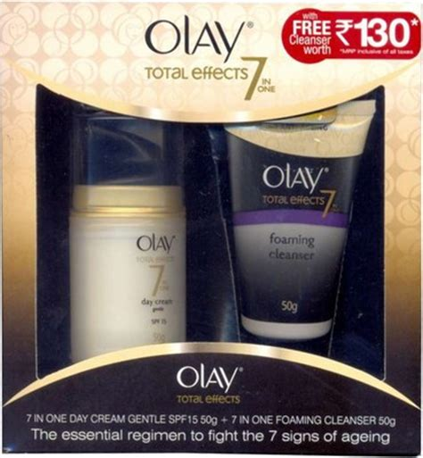Olay Total Effects Day Gentle Spf 15 olay total effects 7 in one day gentle spf 15 price in india buy olay total effects 7
