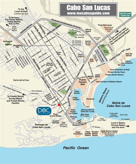 map of cabo san lucas cabo san lucas restaurant map cabo san lucas mappery