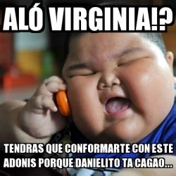 Adonis Meme - meme fat chinese kid al 243 virginia tendras que
