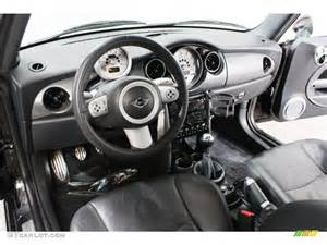 Mini Cooper Custom Interior Panther Black Interior 2005 Mini Cooper S Hardtop Photo