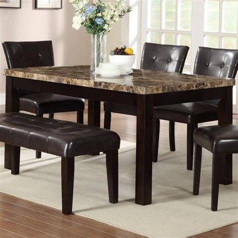 granite top dining table set dining room buy dining room furniture granite top