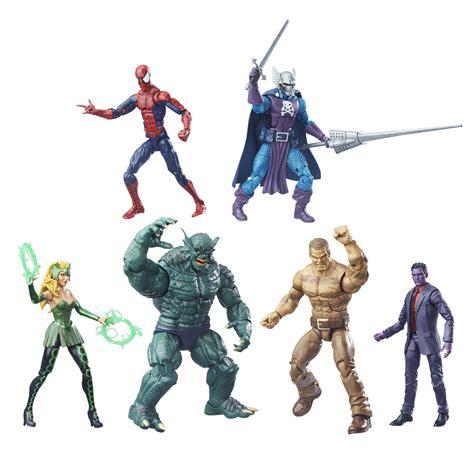 marvel figure 6 set hasbro san diego comic con 2016 exclusives update july 19