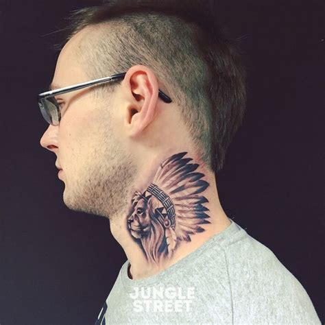 neck tattoo indian 28 best images about jungle street tattoos on pinterest