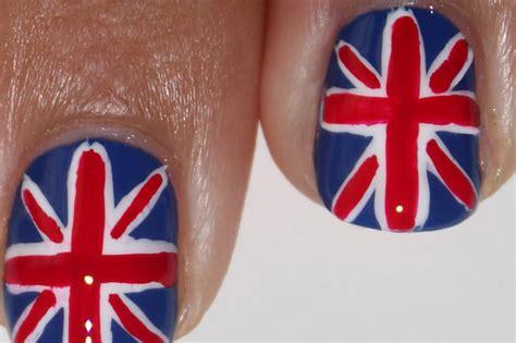 nail art tutorial british flag british flag nail art tutorial video