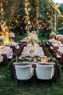 Outdoor Backyard Wedding Reception Ideas 18 Stunning Wedding Reception Decoration Ideas To