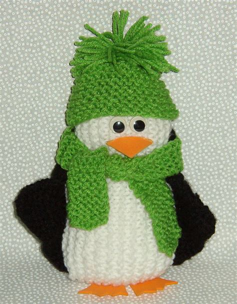 how to knit a penguin a few more penguins to knit free patterns grandmother