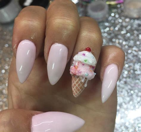 nail art ice cream tutorial 21 cute pink nail designs perfect for every stylish lady