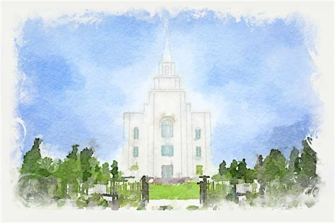 watercolor tattoos kansas city kansas city temple watercolor print in temple
