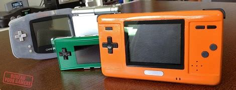 game gear mod dsi turning a ds into a game boy advance hackaday