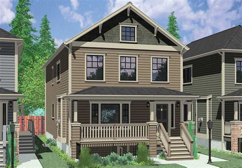 Mother In Law Suites stacked duplex house plans floor plans