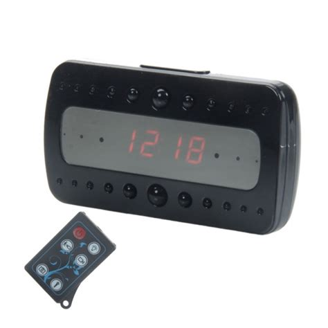 Digital Alarm Clock With Motion Detection 1080p alarm clock dvr with motion
