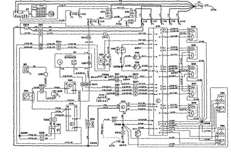 volvo 850 1995 wiring diagrams hvac controls