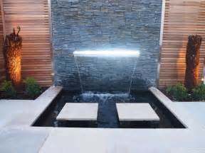 pool waterfall swimming brilliant backyard landscape ideas decorated with green garden and