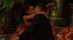 boy kissing a girl in bedroom chris agrees to take back booted bachelor hopeful while