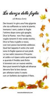 canzone ci vuole un fiore illustrata danza delle foglie monica sorti filastrocche e poesie