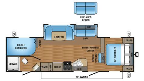 100 cougar trailer floor plans 2017 jay flight 100 bunkhouse trailer floor plans 2018 forest river
