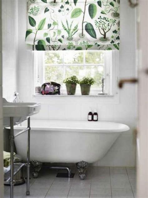 botanical bathroom 23 bathrooms with roman shades interior for life