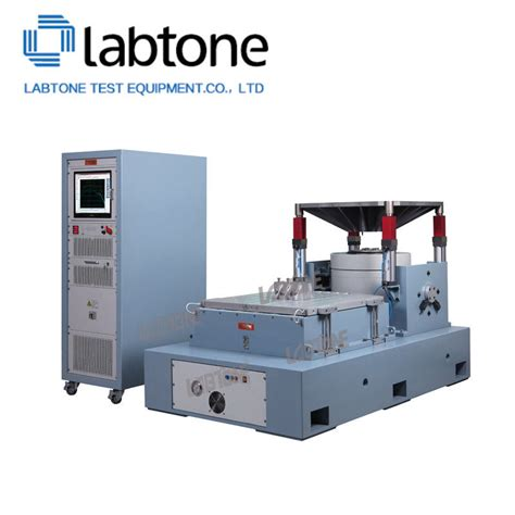 3 axis vibration table 3 axis large vibration test system with standard of