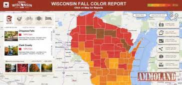 wi fall color report fall colors at peak across northern wisconsin and near