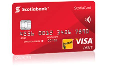 How To Get Visa Gift Card To Bank Account - debit cards scotiabank