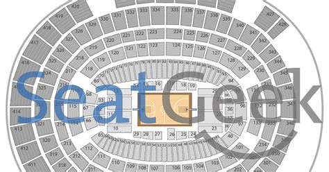 Ticketmaster Square Garden by Msg Seating Chart Concert