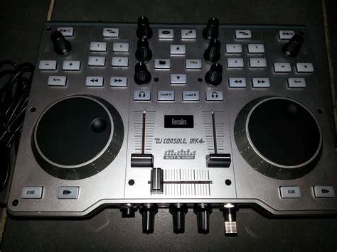hercules console mk4 hercules dj console mk4 image 654327 audiofanzine