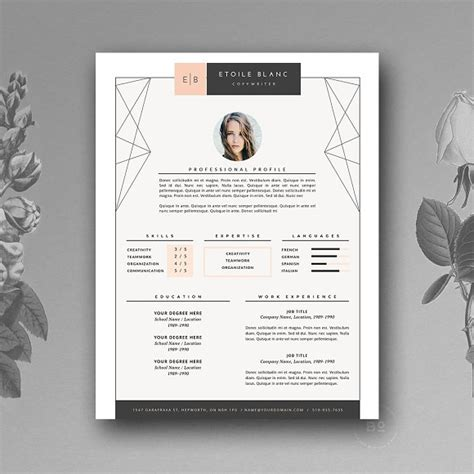 Creative Resume Templates by 50 Creative Resume Templates You Won T Believe Are