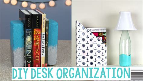 diy desk organization
