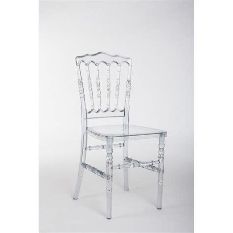 location chaise transparente pour congr 232 s et banquet