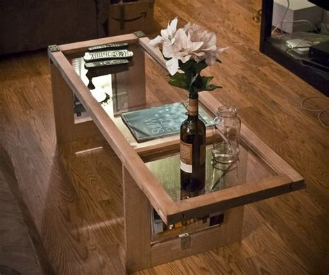 From Window To Table An Amazing Coffee Table Made From An Vintage Window Coffee Table