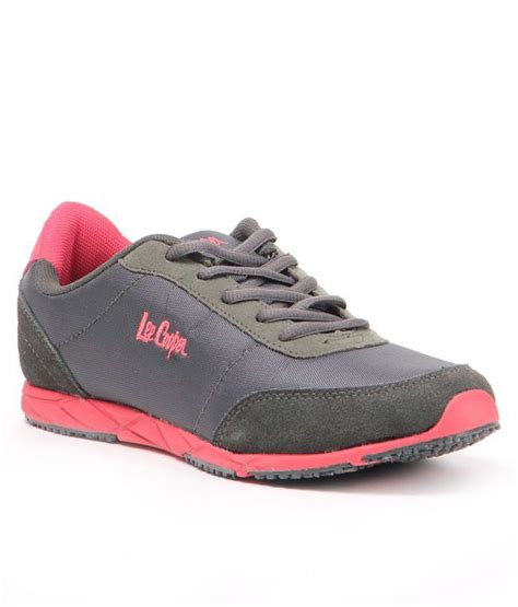 leecooper sports shoes cooper sports attractive grey shoes price in india