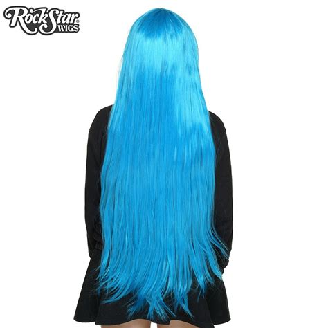 sky blue cosplay wigs cosplay wigs usa straight 100cm 40 quot sky blue 00360