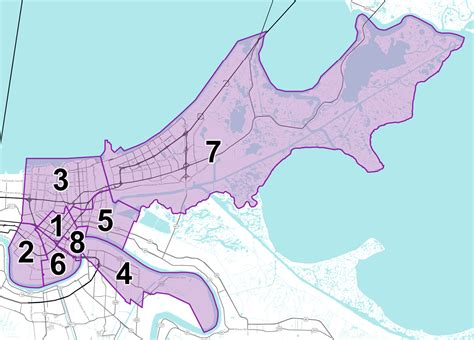 new orleans map new orleans crime map by district new orleans metro