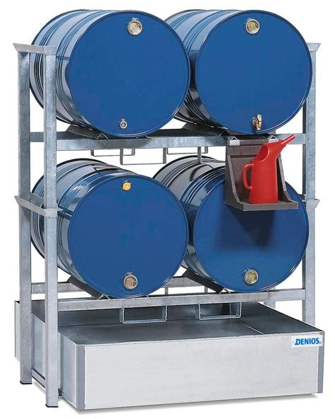 Drum Shelf by Drum Storage Rack Aws 1 For 4 X 205 L Drums Slide Out
