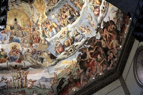Cathedral Ceiling Painting by Chapel Ceiling Painting In The Duomo Picture