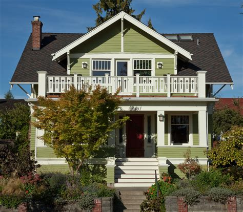 Ballard Designs Chandeliers Street View With Restored Porch Craftsman Exterior
