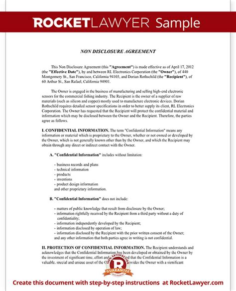 non disclosure confidentiality agreement template related keywords suggestions for secrecy agreement