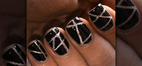 Striping Nailart how to striping nail design 171 nails manicure