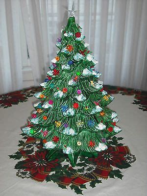 vintage lighted ceramic tree 21 17 best images about on