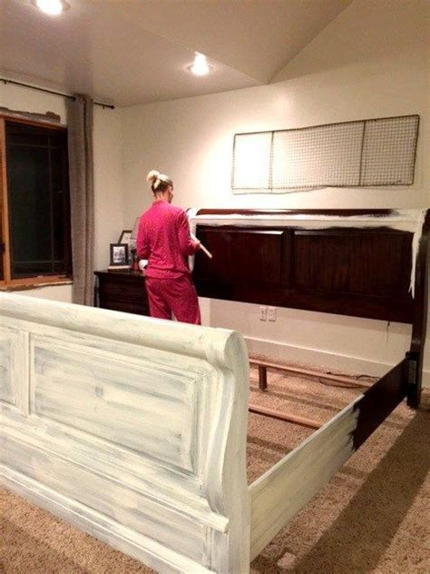 how to paint a bed best 25 refinished bedroom furniture ideas on pinterest