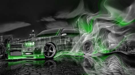 nissan skyline drift wallpaper nissan skyline jdm sedan r34 smoke plastic drift car 2014